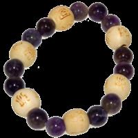Bracelet Perles de karma Kids - Améthyste