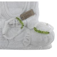 Bracelet Jade Blanc et Chips Péridot - Lot de 2