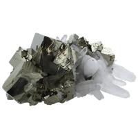 Amas Pyrite et Cristaux - 500 à 600 grammes