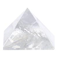 Pyramide Cristal de Roche - 14 cm