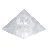 Pyramide Cristal de Roche - 13 cm