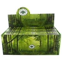 Encens Green Tree Mother Earth 15 Gr - Lot de 12 boîtes