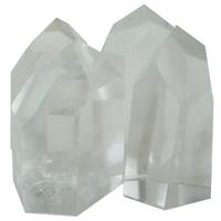 Pointes Polies Cristal de Roche - Qualité Extra - Sachet 500 Gr