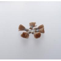 Pompon Fil 20 mm x 6 Crème - Lot de 12