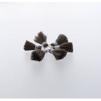 Pompon Fil 20 mm x 6 Taupe - Lot de 12