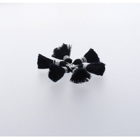 Pompon Fil 20 mm x 6 Marine - Lot de 12