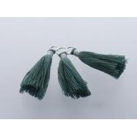 Pompon Fil 45 mm x 3 Vert Celadon - Lot de 12