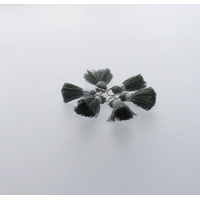 Pompon Fil 20 mm x 6 Vert Sauge - Lot de 12
