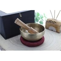 Bol Chantant - Fabrication Artisanale - 10 cm - Coffret Bâton + Anneau