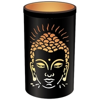 Photophore Rond Bouddha - 17 x 30 cm