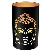 Photophore Rond Bouddha - 10 x 15 cm