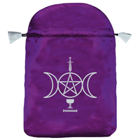 Bourse Satin Violet Wicca