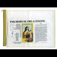 Parchemin de Cire Sainte Thérèse