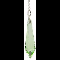 Pendule Cristal 24 Facettes Péridot Light : Hanahata