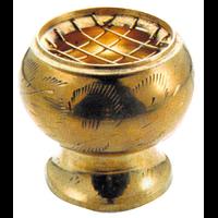 Brûle Encens- Laiton Doré 5 cm