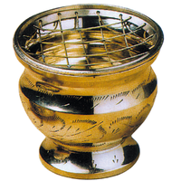 Brûle Encens - Laiton Doré 7 cm