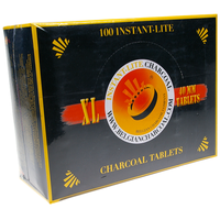 Coffret Charbons Ardents - Diamètre 40 mm