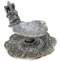 Brûle encens Alu Fleurs Ganesh