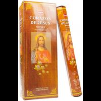 Encens Corazon de Jesus - 6 Boîtes