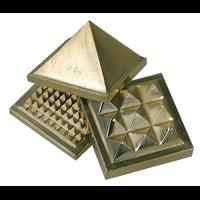 Pyramide Radionique en Laiton