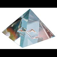 Pyramide Cristal de Roche - Qualité Supérieure - 8 cm