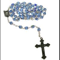 Chapelet Cristal Bleu
