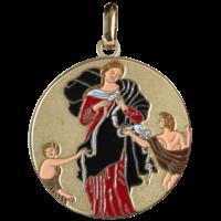 Médaille Marie Qui Défait Les Noeuds