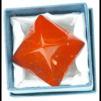 Pyramide Jaspe Rouge - 3 cm