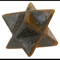 Etoile Merkaba Oeil de Tigre - 2 cm