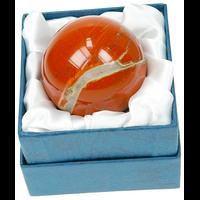 Sphère Jaspe Rouge 40 mm