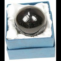 Sphère Tourmaline Noire - 40 mm