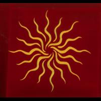 Tapis Rouge 80 x 80 cm - Soleil