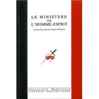 Ministère de l'Homme-Esprit - L.C. Saint-Martin