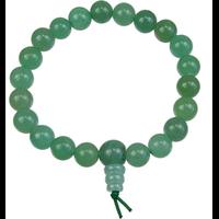 Bracelet Mala Tibétain Aventurine verte