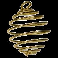 Spirale Dorée PM - Lot de 5