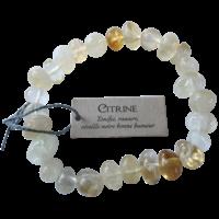 Bracelet Nuggets Citrine