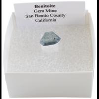 Benitoïte Cristal - La Pièce de 0,5 à 1 cm