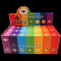 7 Chakras - Lot de 12 Paquets