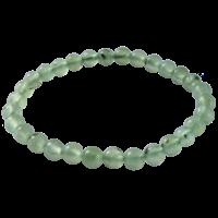 Bracelet Perles Rondes Phrénite 8 mm