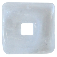 Pi Chinois Carré Cristal de Roche 3 cm