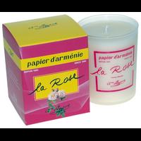 Bougie Papier d'Arménie - La Rose