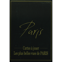 Jeu de cartes Paris