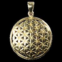 Médaille Graine de Vie Laiton 2,5 cm
