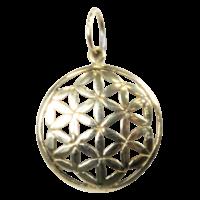 Médaille Graine de Vie Laiton 1,5 cm