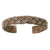 Bracelet 3 Métaux Torsade