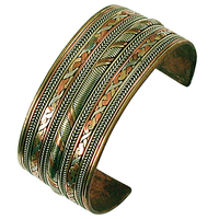 Bracelet 3 Métaux - Largeur 3 cm