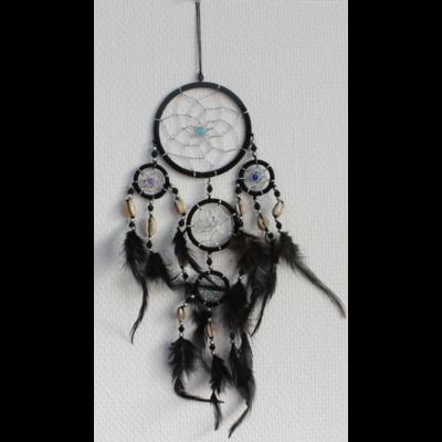 Dreamcatcher Petit Modèle Noir - 9 cm