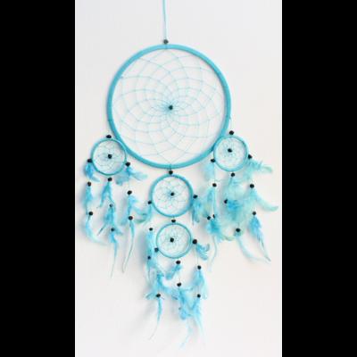Dreamcatcher Grand Modèle Turquoise - 26 cm