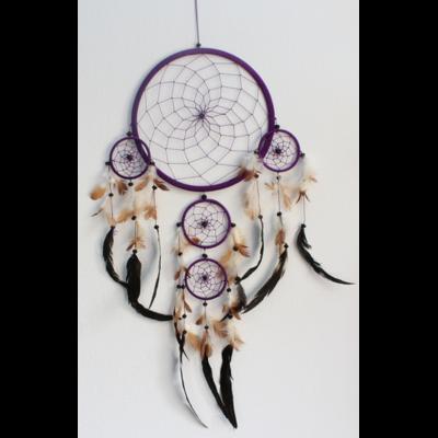 Dreamcatcher Grand Modèle Violet - 26 cm
