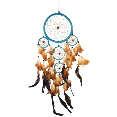 Dreamcatcher 5 Cercles Turquoise
